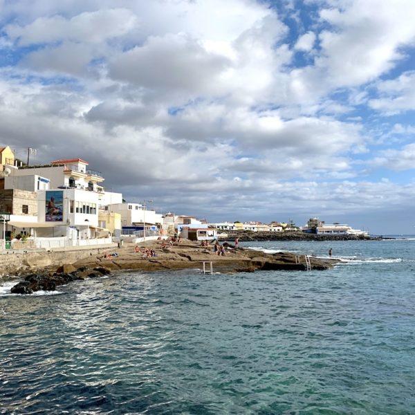La Caleta de Adeje Meer wandern auf Teneriffa
