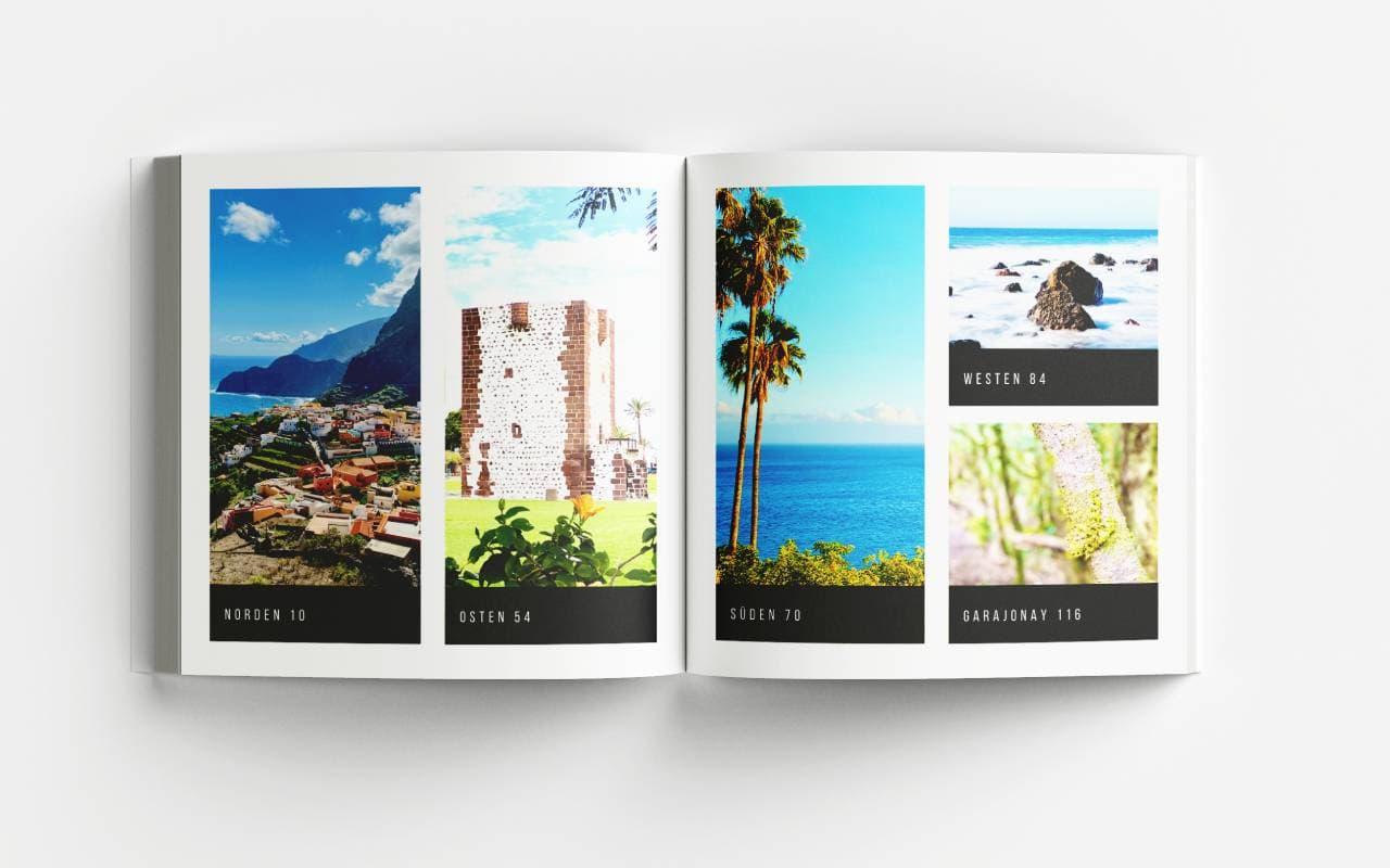 La Gomera Bildband Inhaltsverzeichnis