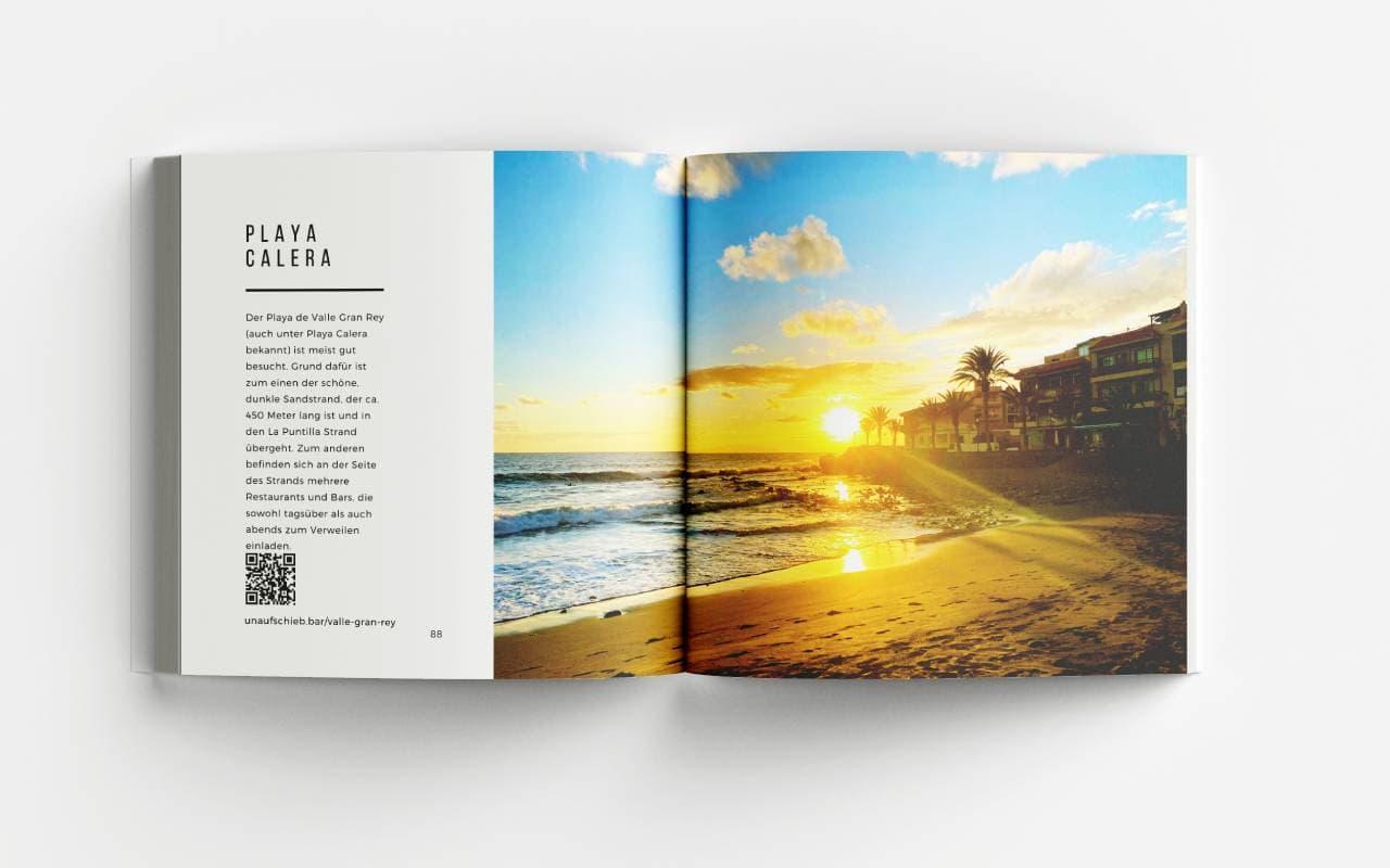 La Gomera Bildband Playa Calera Strände