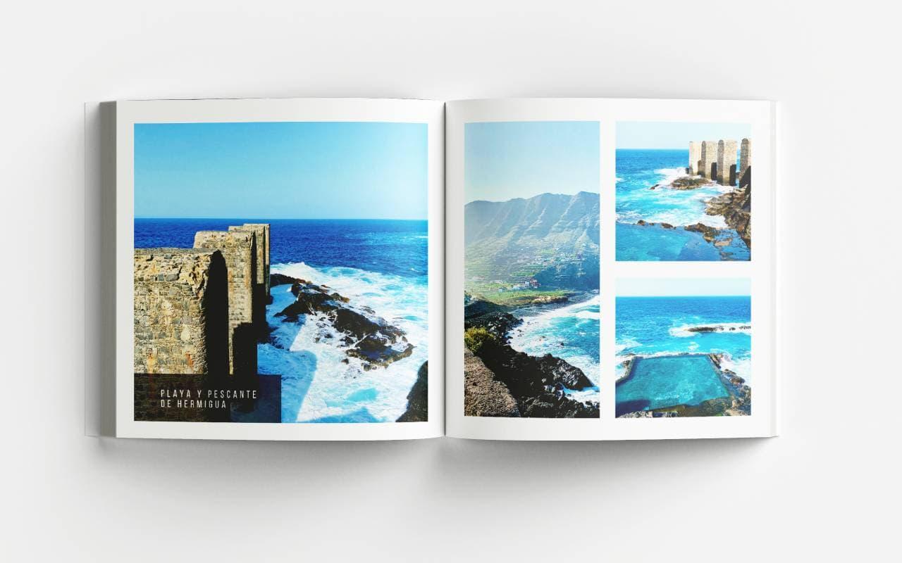 La Gomera Bildband Playa y Pescante de Hermigua