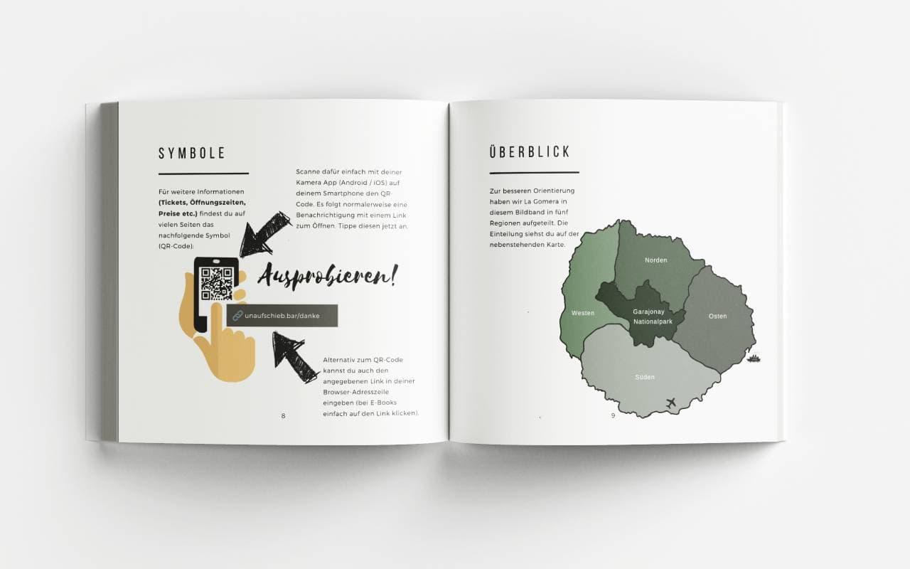 La Gomera Bildband Symbole Karte