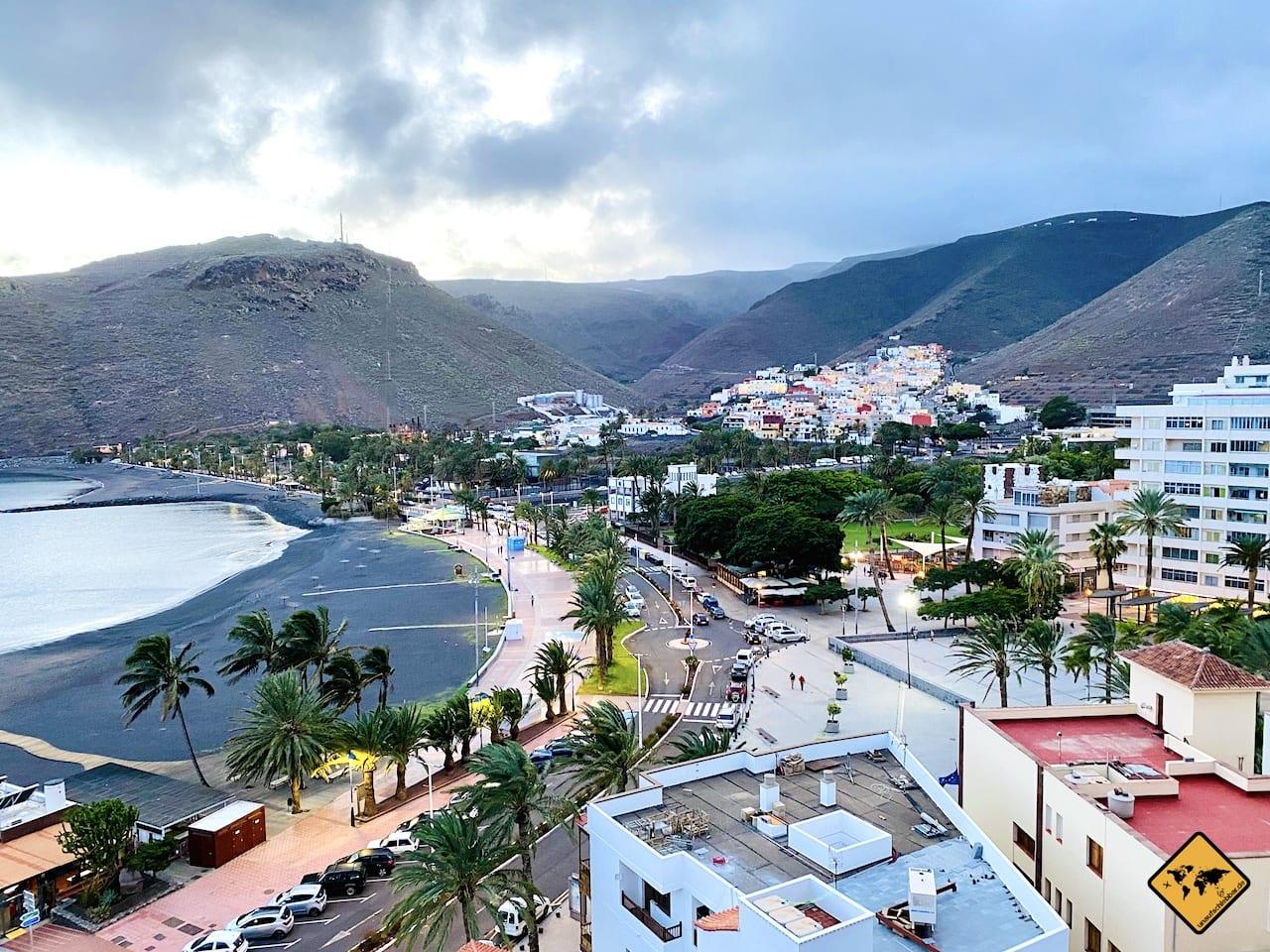 La Gomera Insel-Hauptstadt San Sebastián