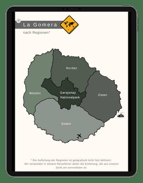La Gomera Karte
