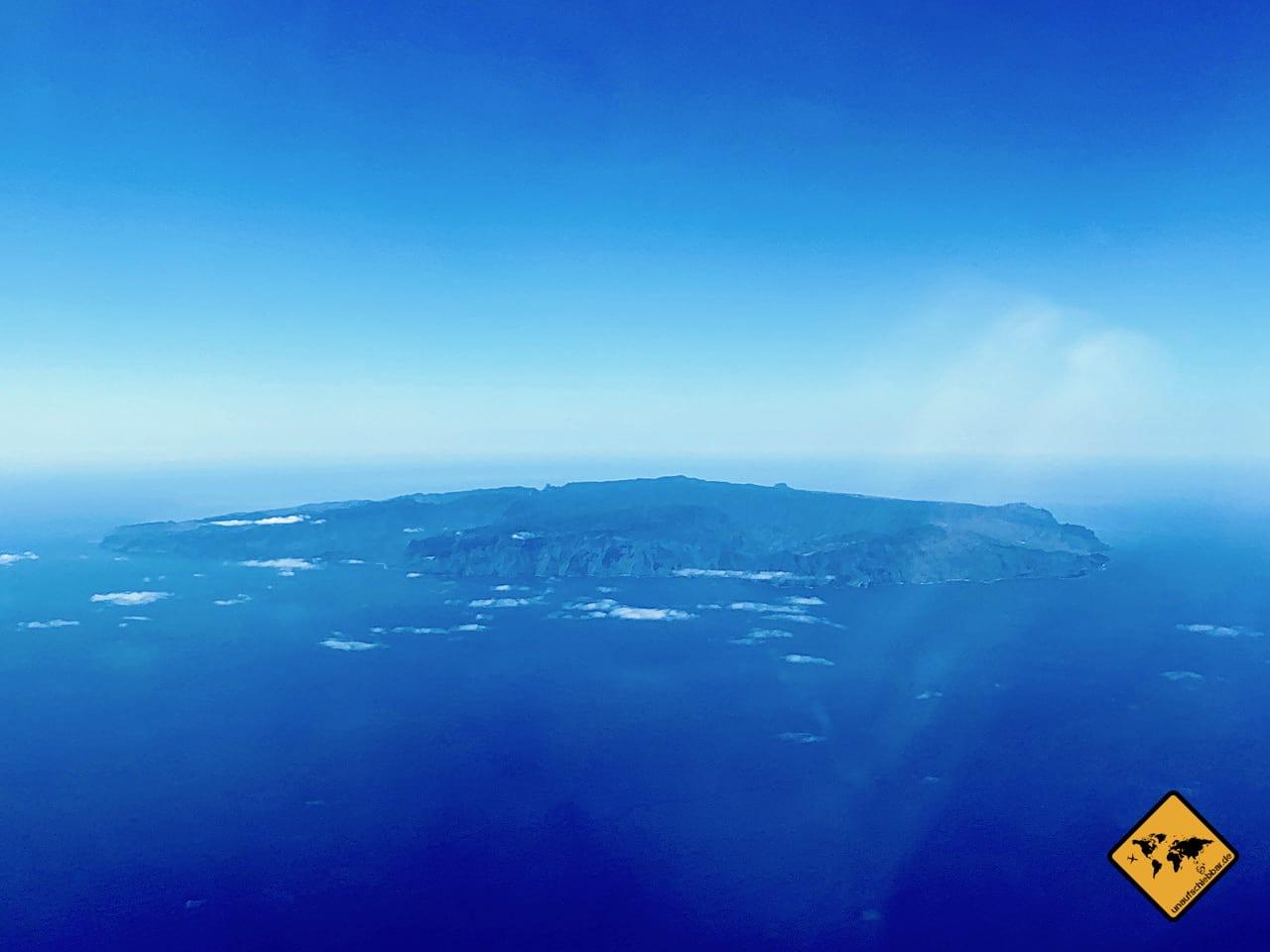 La Gomera Luftaufnahme