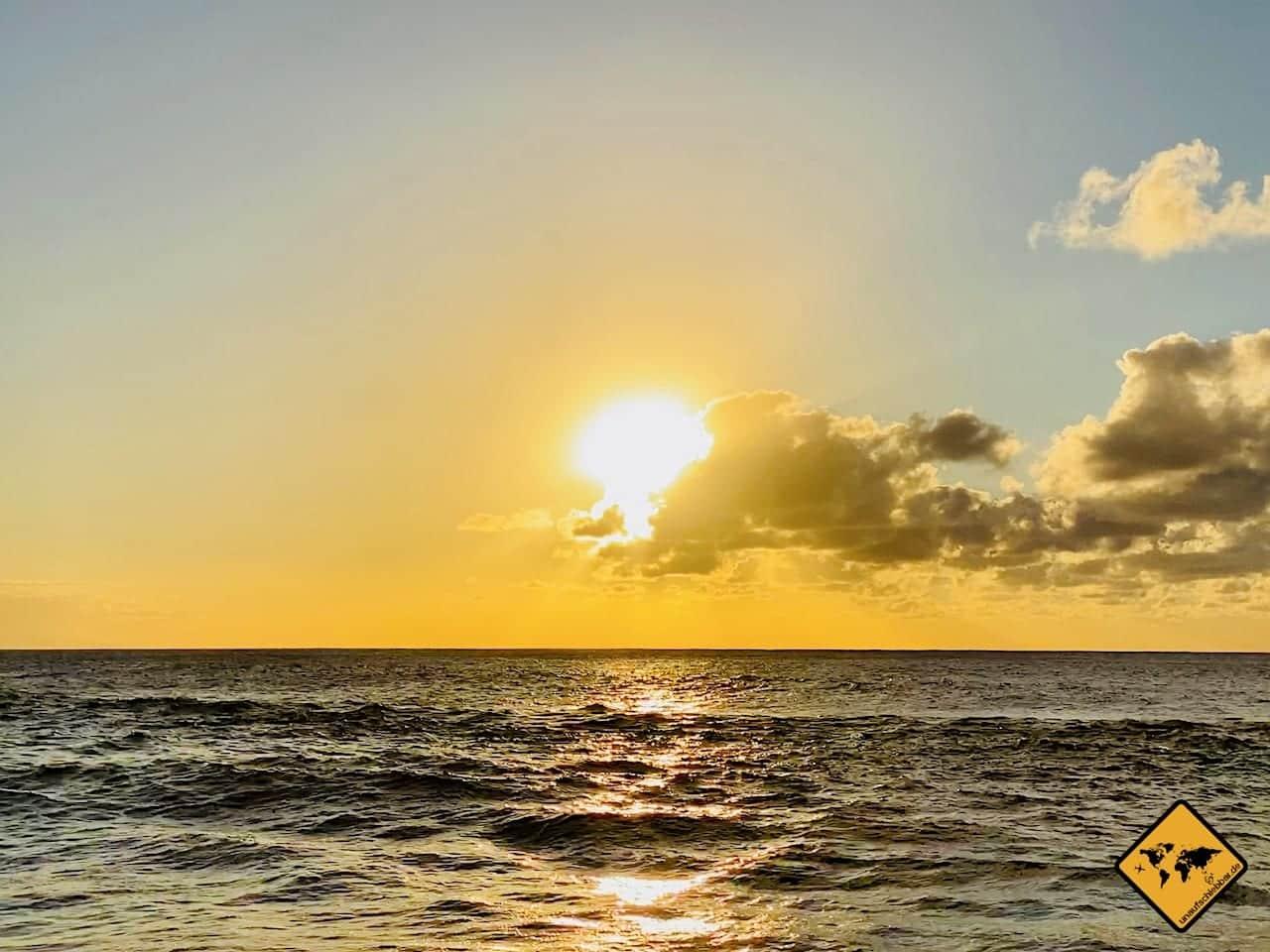 La Gomera Sonnenuntergang Alojera