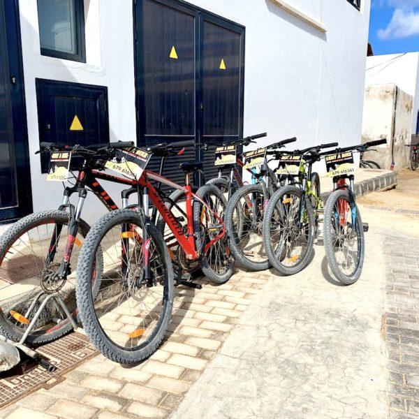 La Graciosa Fahrrad
