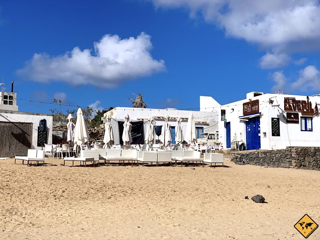 La Graciosa Restaurant Strand