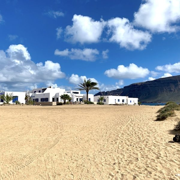 La Graciosa Spanien Häuser
