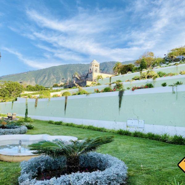 La Orotava Victoria Garden Aussichtspunkt