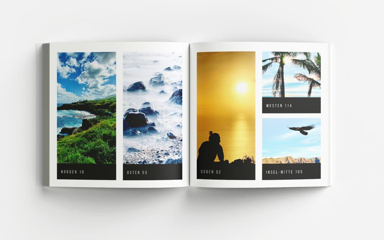 La Palma Bildband Fotoband Übersichtlich strukturiert