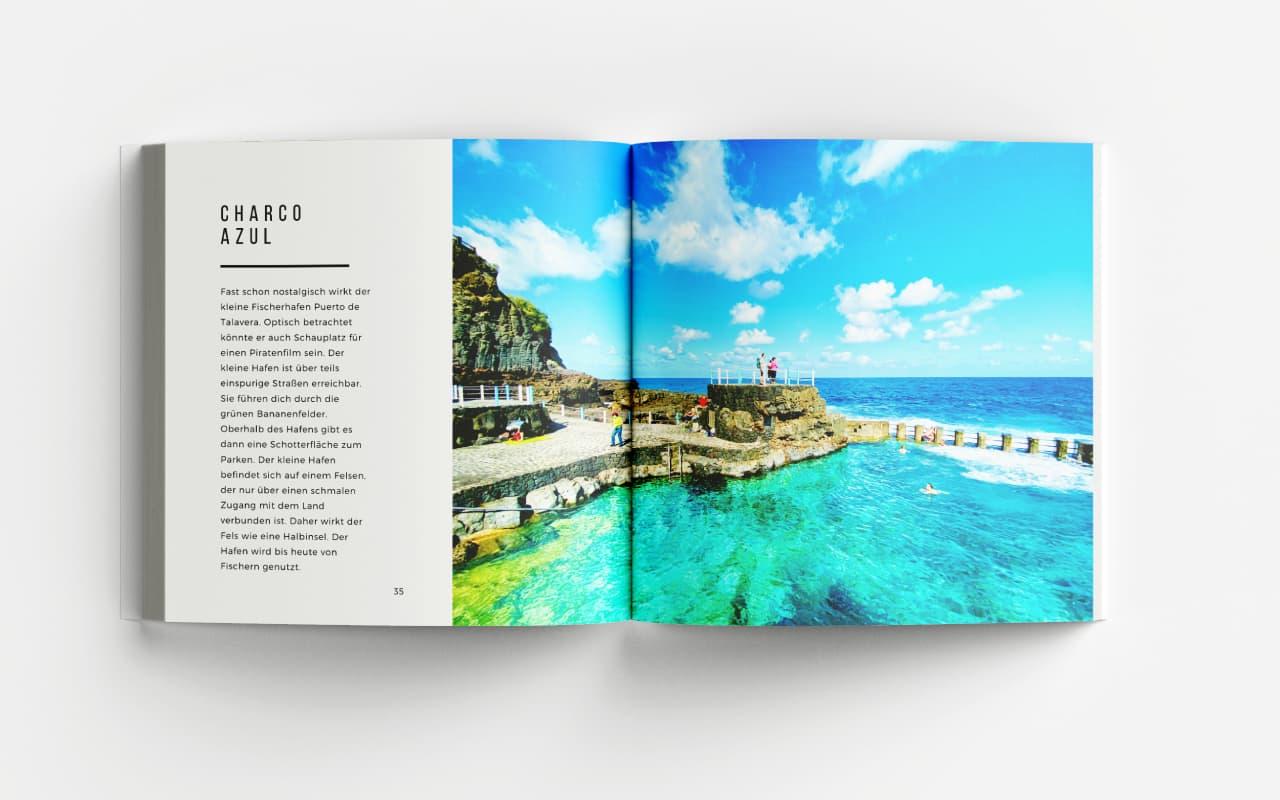 La Palma Bildband Fotoband die besten Plaetze zum Schwimmen