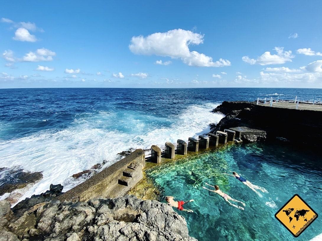 La Palma Meerwasser-Pool Charco Azul
