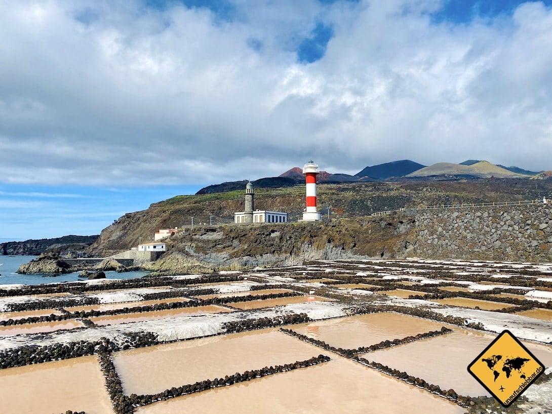 La Palma Sehenswürdigkeiten Faro de Fuencaliente Salinen