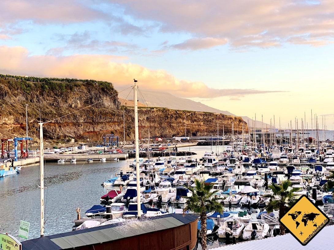 La Palma Sehenswürdigkeiten Hafen Tazacorte