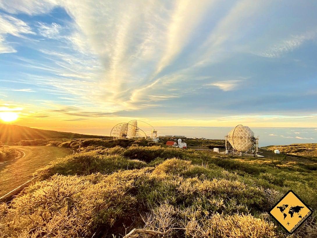 La Palma Sehenswürdigkeiten Observatorium