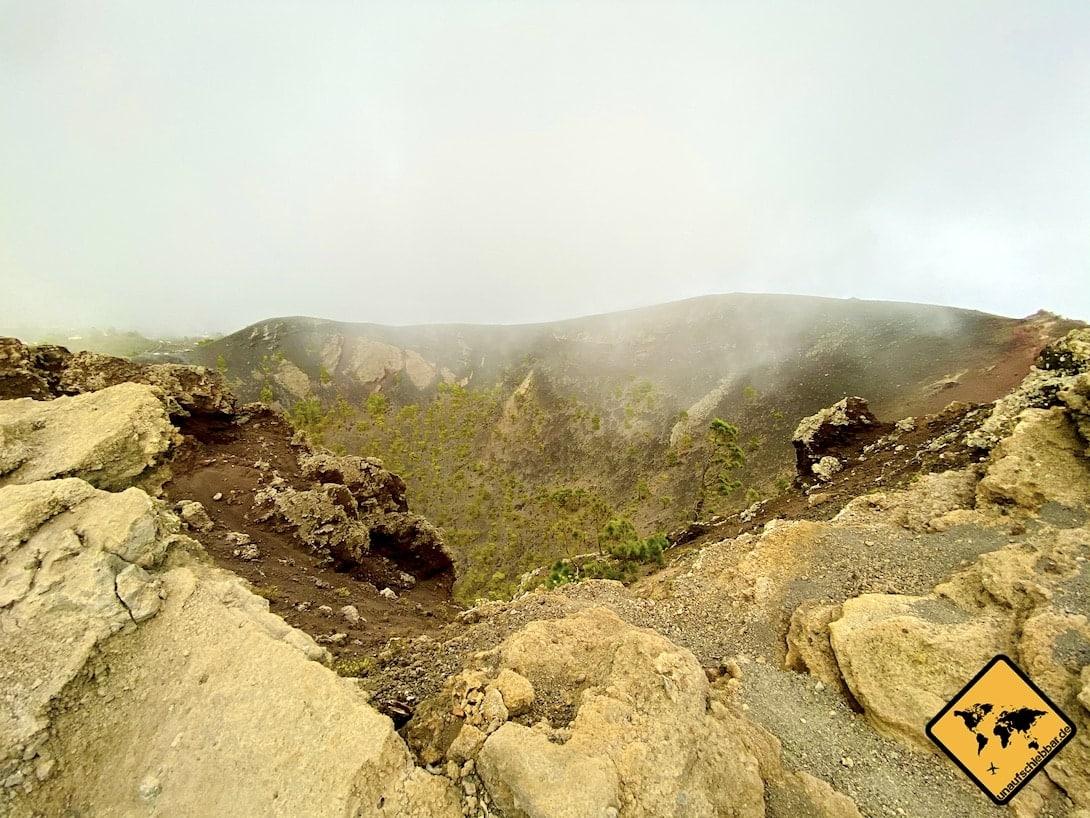 La Palma Sehenswürdigkeiten Volcán San Antonio