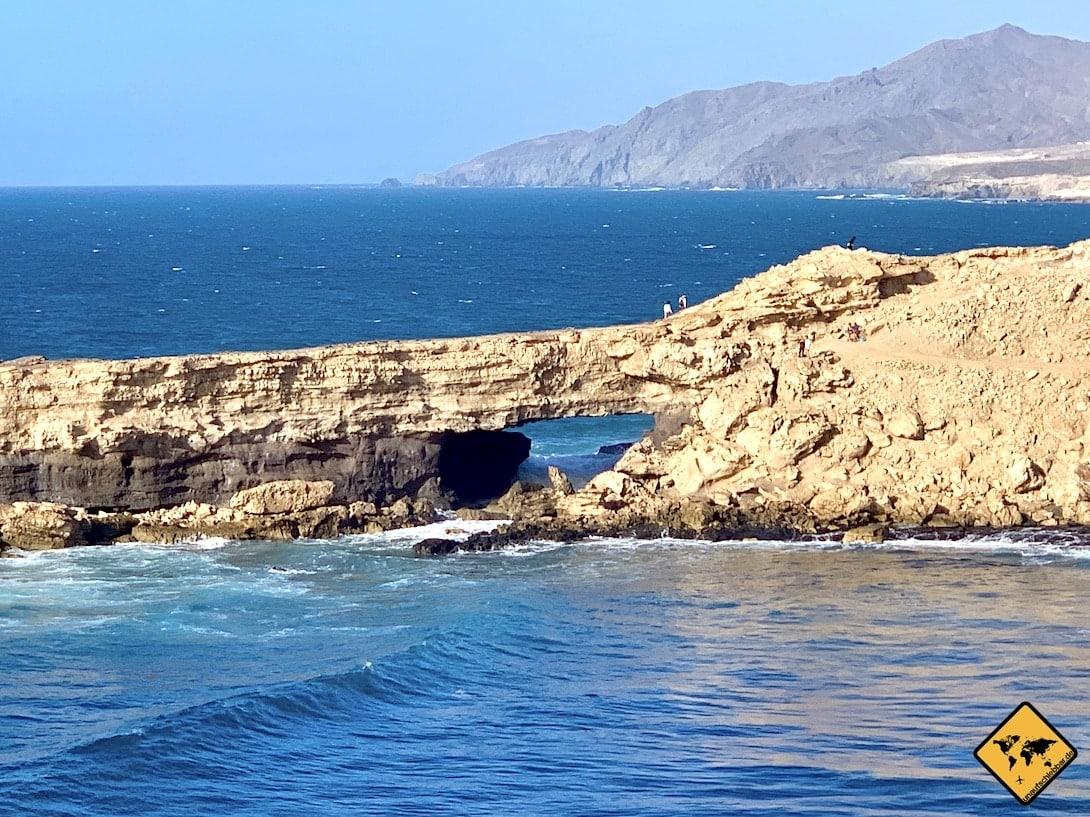 La Pared Fuerteventura Felsen Meer