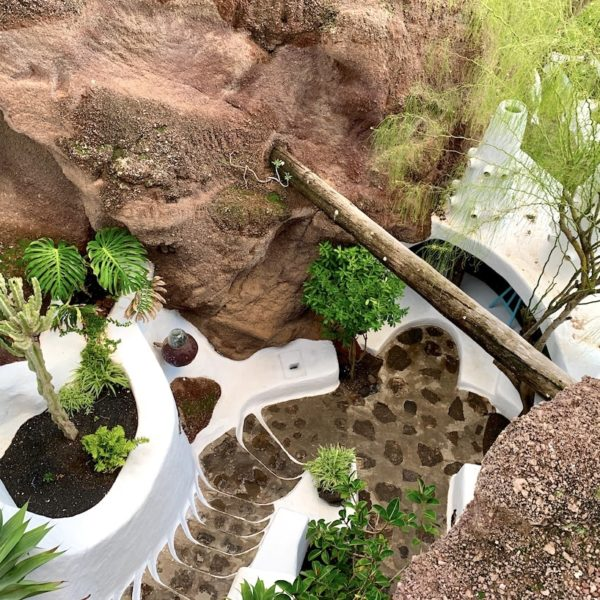 LagOmar Haus Omar Sharif Lanzarote Garten