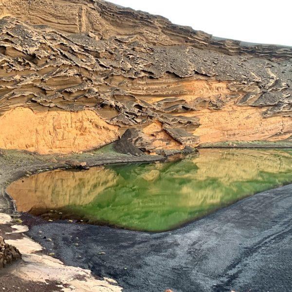Lago Verde Lanzarote El Golfo