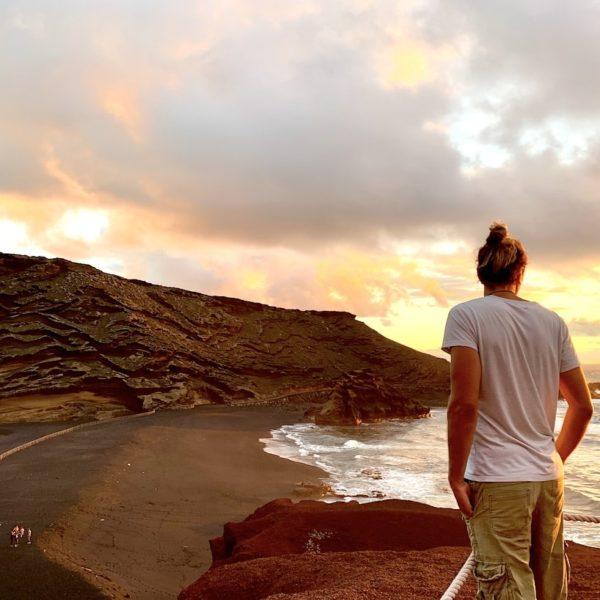 Lago Verde Lanzarote El Golfo Aussichtspunkt