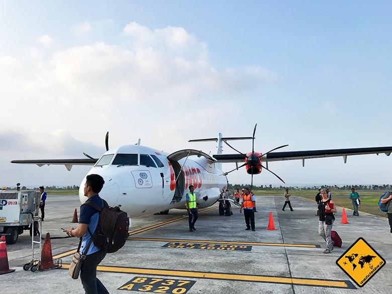 Landebahn Lombok Airport