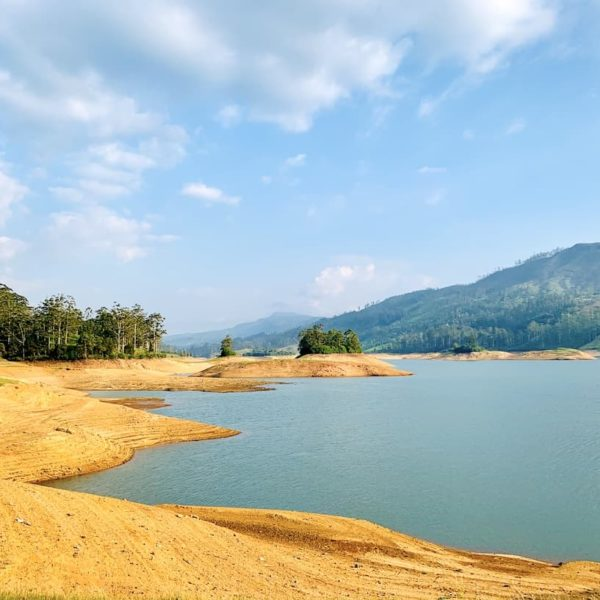 Landschaft Castlereigh Reservoir Hatton Sri Lanka