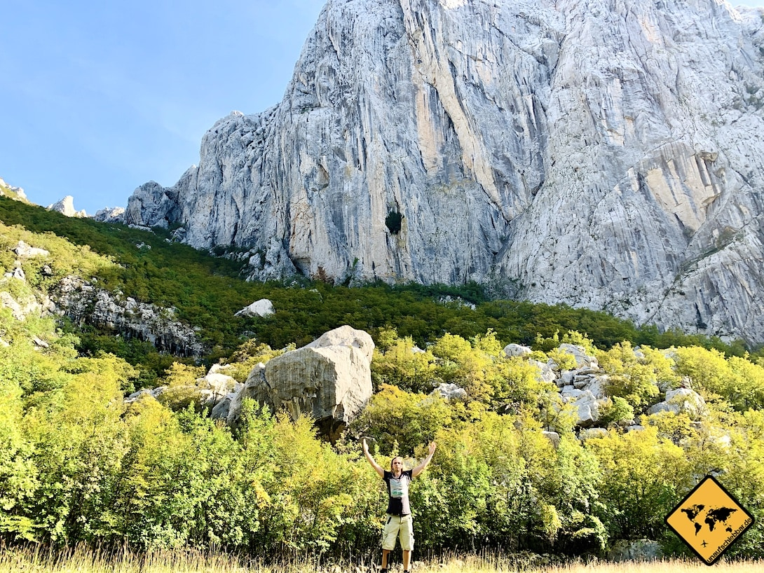 Landschaft Kroatien Paklenica Nationalpark