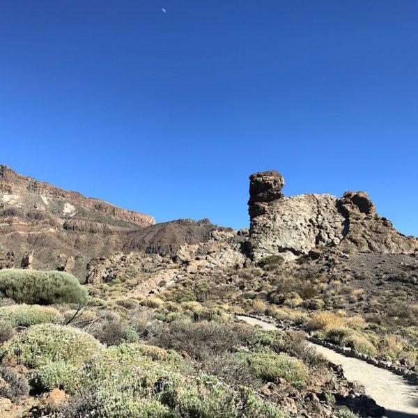 Landschaft Mirador Llano de Ucanca Nationalpark Teide