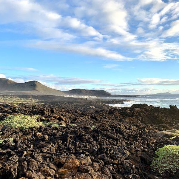 Landschaft Wanderung El Golfo Lanzarote