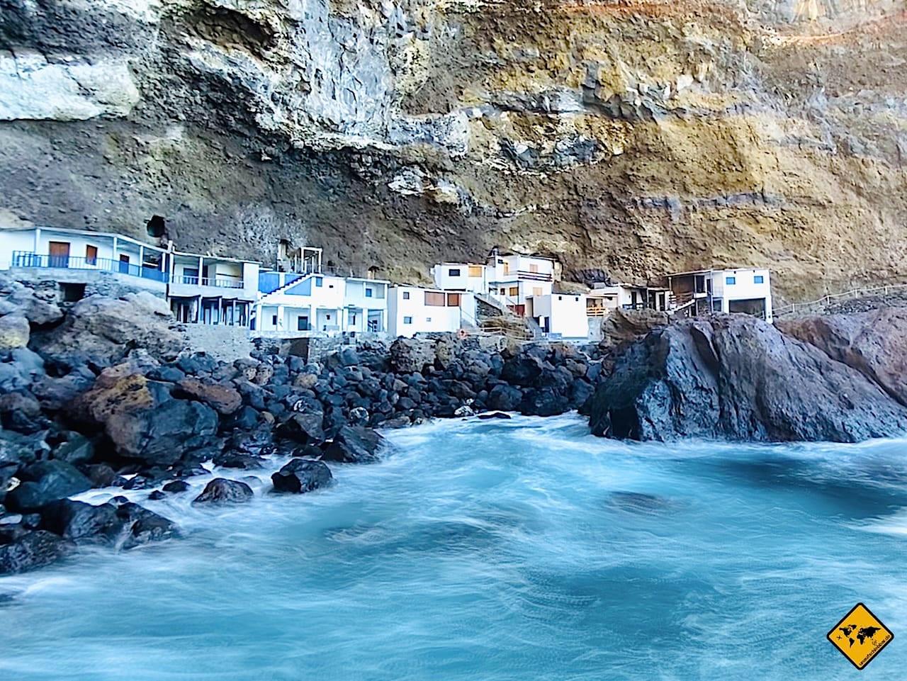 Langzeitbelichtung Meer Bucht iPhone 11 Pro