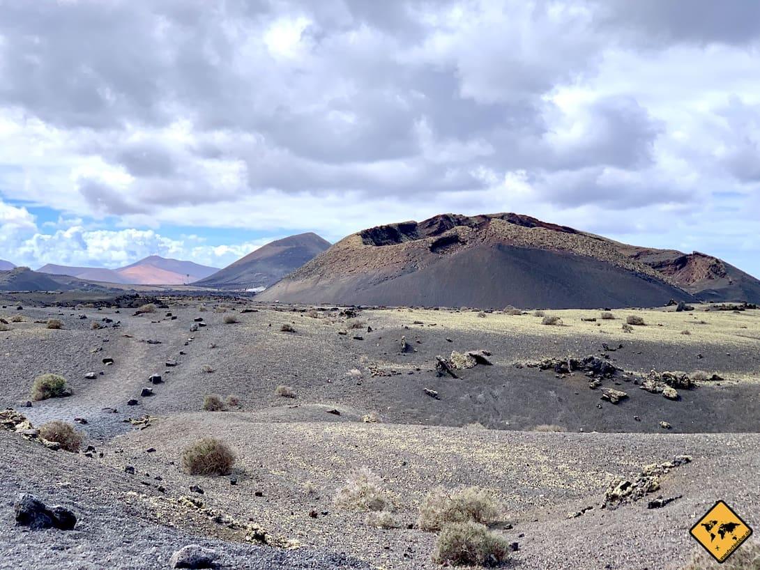 Lanzarote Ausflüge Timanfaya Nationalpark Vulkan-Krater