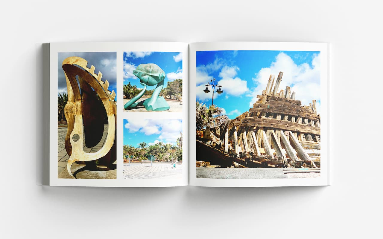 Lanzarote Bildband Kunst Wrack