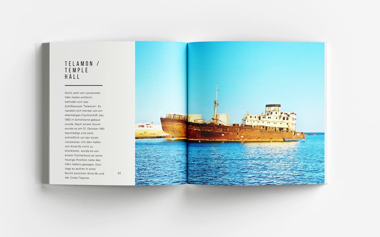 Lanzarote Bildband Schiffswrack
