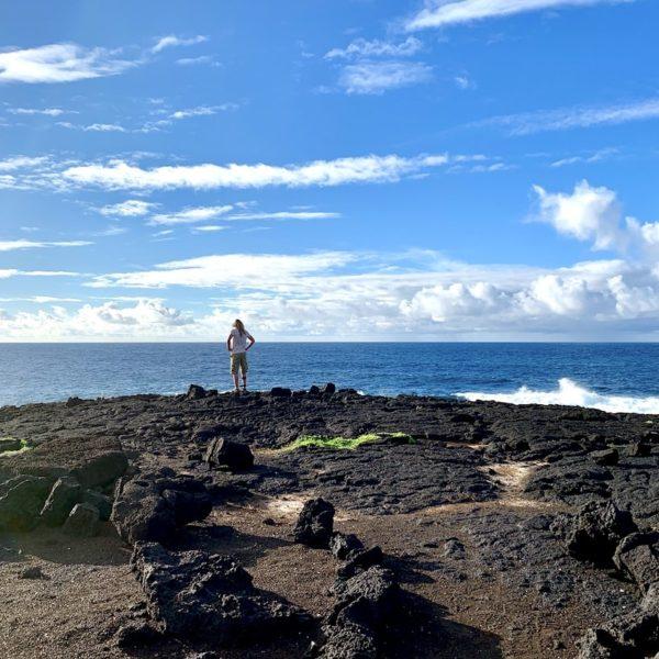 Lanzarote El Golfo Meer Küstenwanderung