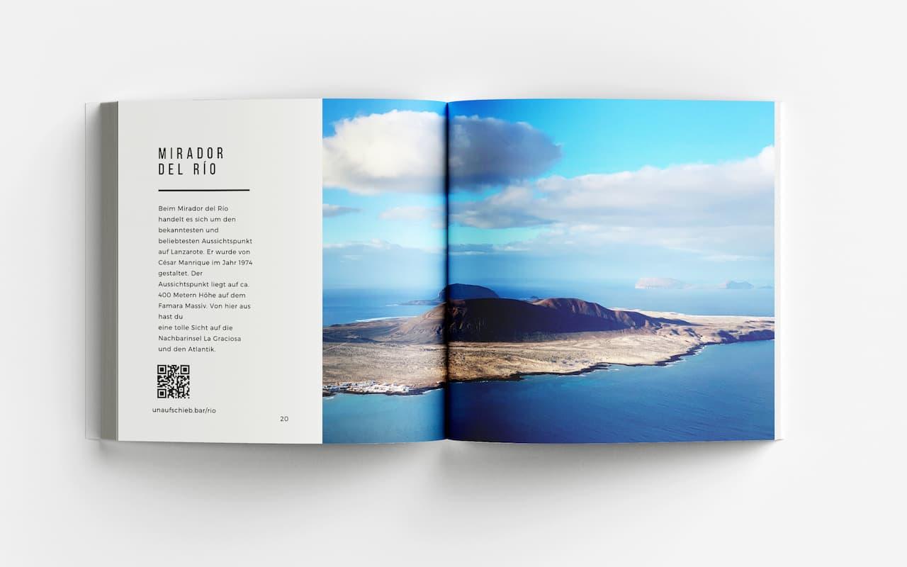 Lanzarote Fotoband Mirador del Rio