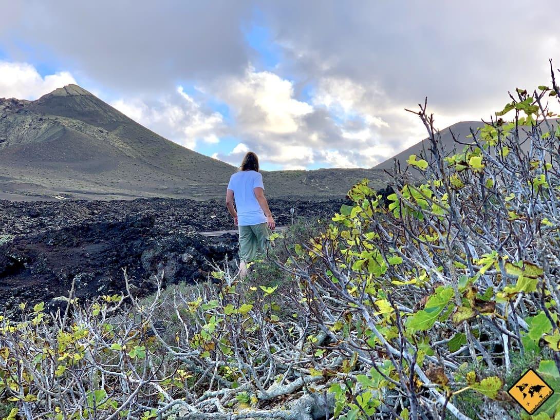Lanzarote Geheimtipps Wanderung Timanfaya