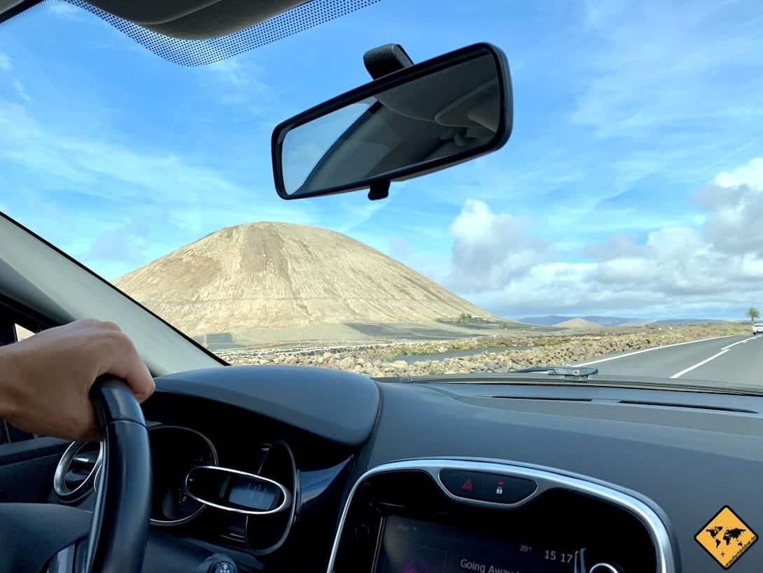 Um alle Highlights auf Lanzarote zu entdecken, ist ein Mietwagen die beste Option