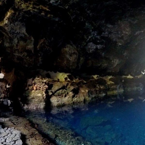 Lanzarote Jameos del Agua Höhle See