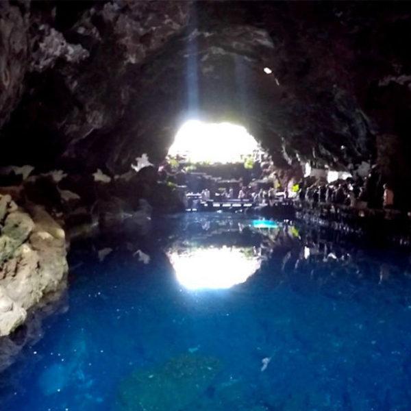 Lanzarote Jameos del Agua See