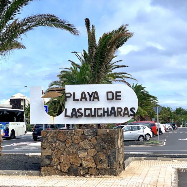 Lanzarote Playa de las Cucharas