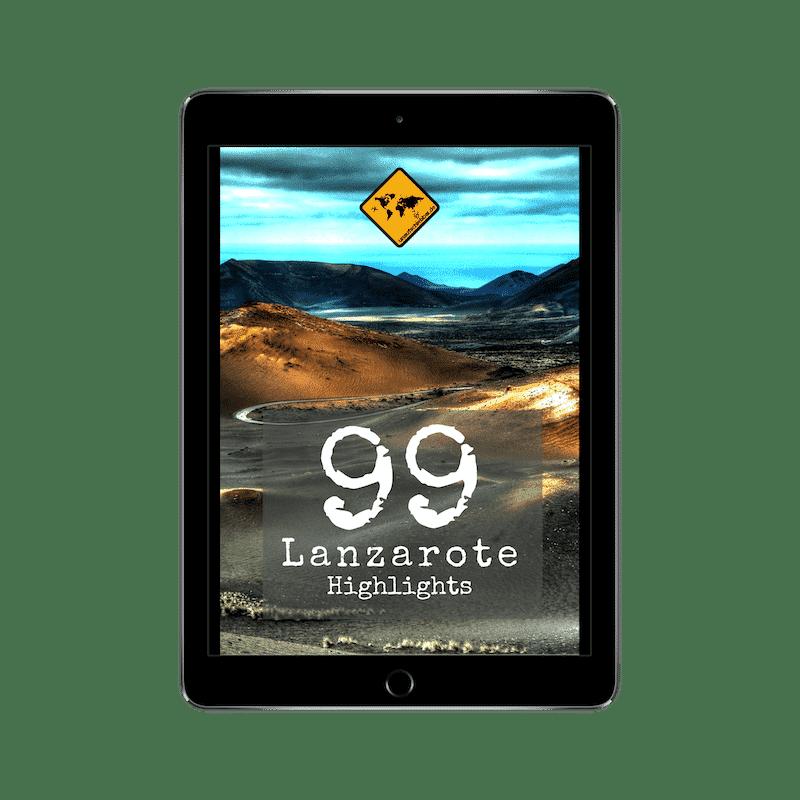 Lanzarote Reiseführer 99 Highlights iPad Cover