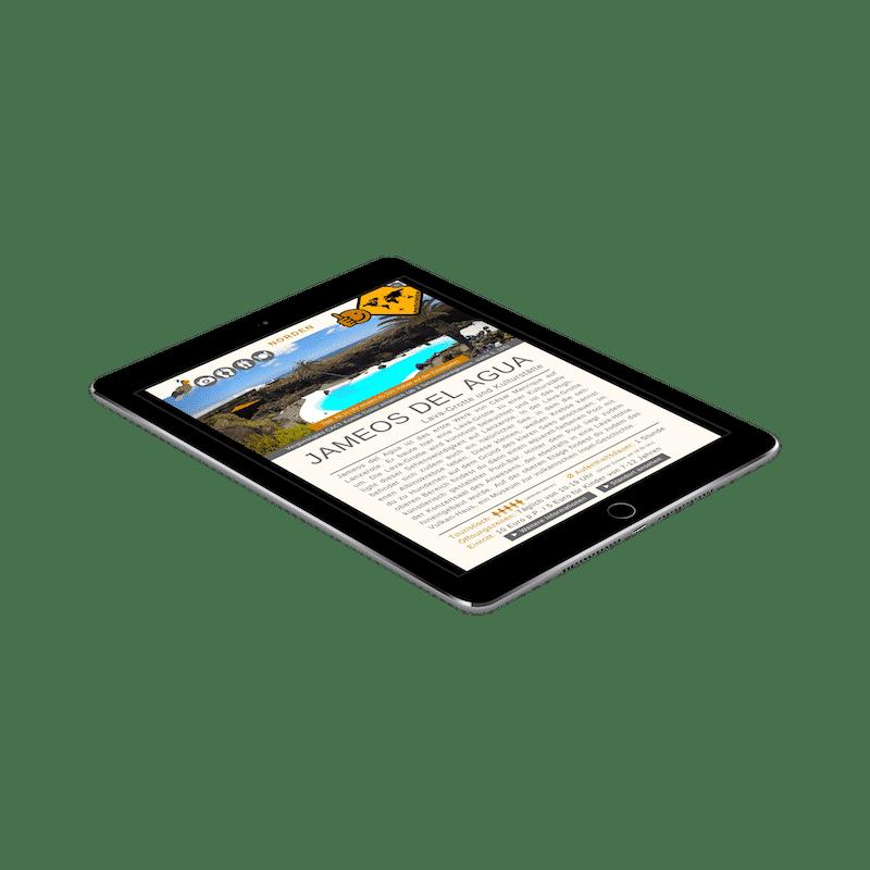 Lanzarote Reiseführer 99 Highlights iPad Jameos del Agua