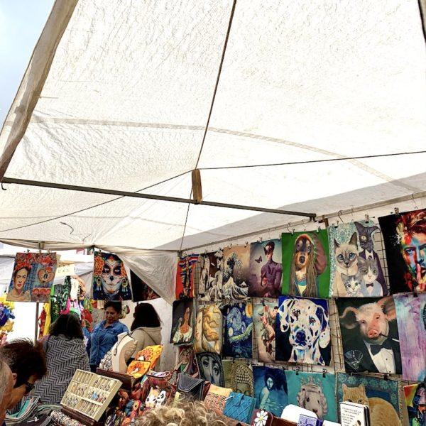 Lanzarote Teguise Markt Bilder
