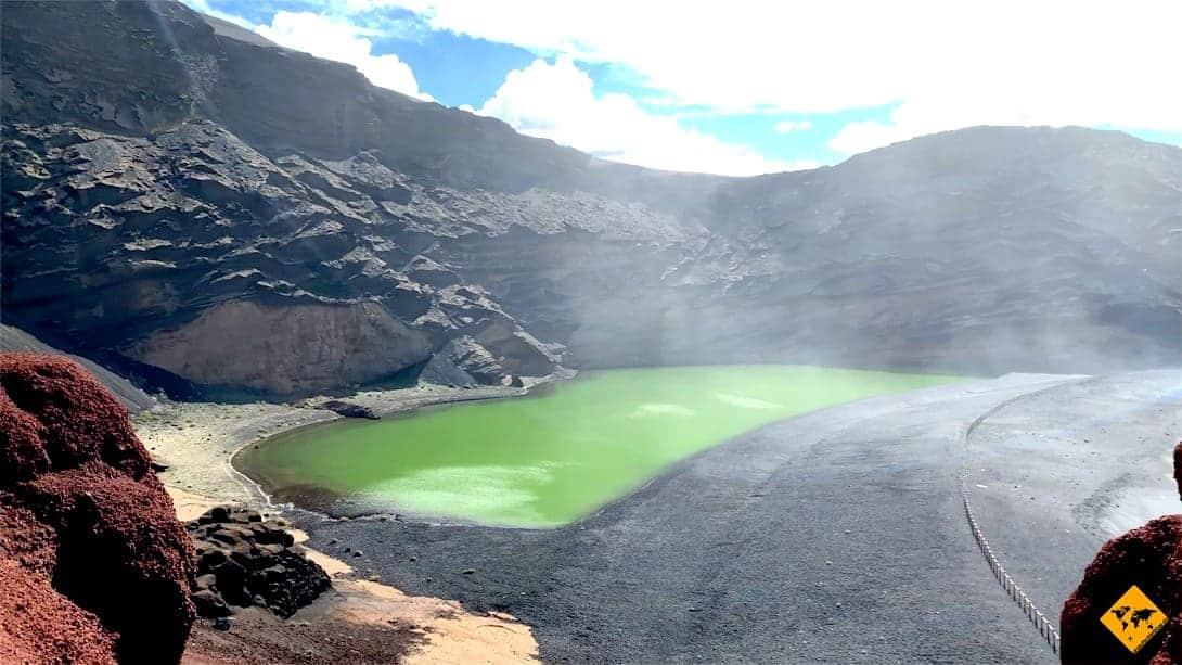 Lanzarote interessante Orte Lago Verde