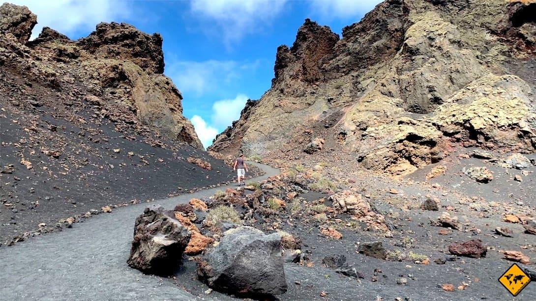 Lanzarote interessante Orte Volcán El Cuervo