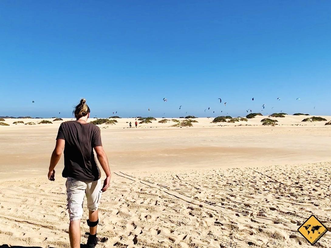 Lanzarote oder Fuerteventura Sandstrand
