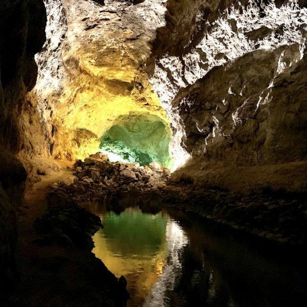 Lanzarote sehenswertes: Die Cueva de los Verdes