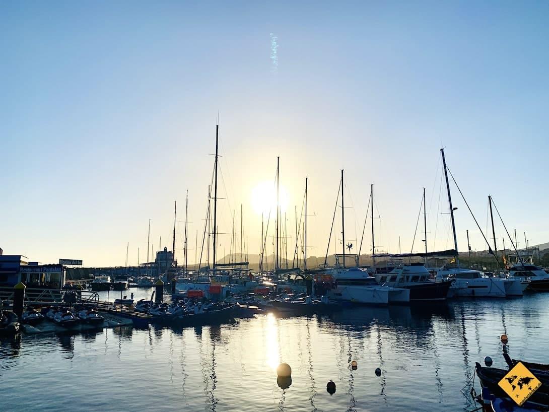 Las Galletas Hafen