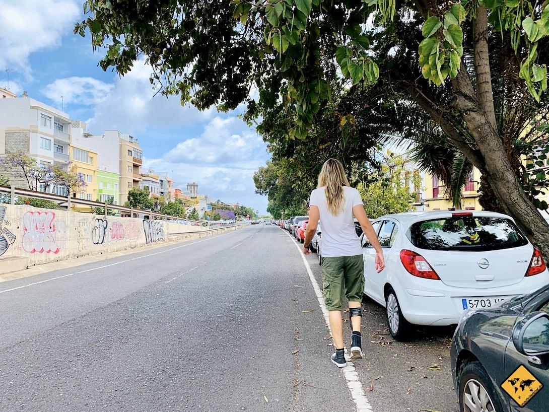Las Palmas Parkplatz kostenlos GC-5