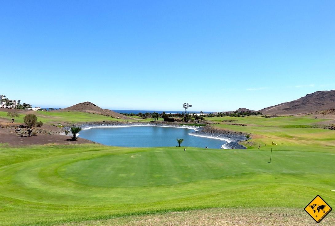 Las Playitas Golf spielen Fuerteventura